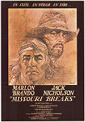 Missouri Breaks Poster 70x100cm FN original