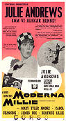 Moderna Millie 1967 poster Julie Andrews