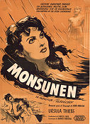Monsoon 1952 poster Ursula Thiess Rod Amateau