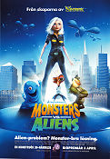 Monsters vs Aliens Poster 70x100cm RO original
