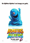 Monsters vs Aliens Poster 70x100cm advance RO original