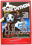 Monty Python i Hollywood 1982 poster