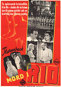 Mord i Rio 1939 poster Leny Marenbach Erich Engels