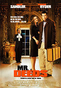 Mr Deeds 2002 poster Adam Sandler Steven Brill