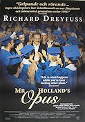 Mr Holland´s Opus 1995 poster Richard Dreyfuss