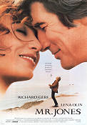 Mr Jones 1993 poster Richard Gere