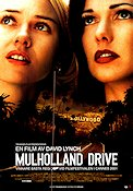 Mulholland Drive 2001 Filmaffisch Naomi Watts David Lynch