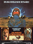 Mumiens förbannelse 1981 poster Charlton Heston Mike Newell