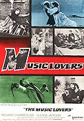 The Music Lovers Poster 70x100cm FN original