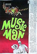 The Music Man 1963 poster Robert Preston