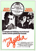 Mysteriet Agatha 1979 poster Dustin Hoffman Michael Apted