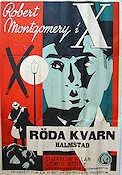The Mystery of Mr X 1934 poster Robert Montgomery