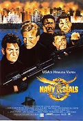 Navy Seals 1990 poster Charlie Sheen