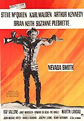 Nevada Smith 1966 poster Steve McQueen Henry Hathaway