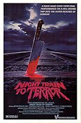 Night Train to Terror Poster 68x102cm USA FN original