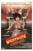 Nightmare Weekend Poster 68x102cm USA FN original