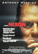 Nixon 1995 poster Anthony Hopkins Oliver Stone
