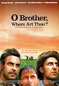 O Brother Where Art Thou 2000 poster George Clooney