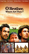 O Brother Where Art Thou 2000 poster George Clooney Joel Ethan Coen