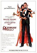 Octopussy 1983 poster Roger Moore
