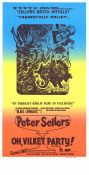 Oh vilket party 1968 poster Peter Sellers Blake Edwards