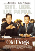 Old Dogs 2009 poster Robin Williams Walt Becker