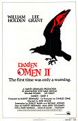 Omen 2 Damien 1978 poster William Holden Mike Hodges