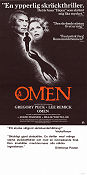The Omen 1976 poster Gregory Peck Richard Donner