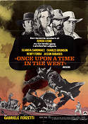 Once Upon a Time in the West 1969 poster Charles Bronson Sergio Leone