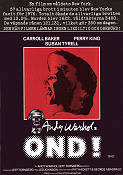 Ond 1977 poster Carroll Baker Jed Johnson