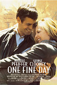 One Fine Day 1996 poster Michelle Pfeiffer Michael Hoffman