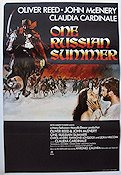 One Russian Summer 1968 poster Oliver Reed