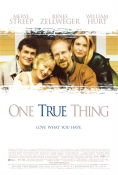 One True Thing 1998 poster Meryl Streep