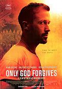 Only God Forgives 2013 poster Ryan Gosling Nicolas Winding Refn