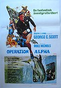 Operation Alpha 1974 poster George C Scott Mike Nichols