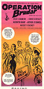 Operation brudar 1957 poster Jack Lemmon Richard Quine