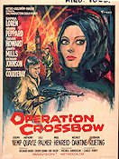 Operation Crossbow Poster 35x50cm Belgium GD original