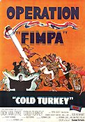 Operation Fimpa 1971 poster Dick Van Dyke Norman Lear