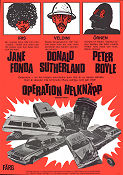 Operation Helknäpp 1973 poster Jane Fonda Alan Myerson