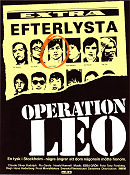 Operation Leo 1981 poster Hans Hederberg