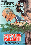 Operation parasoll 1971 poster Louis de Funes