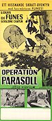 Operation parasoll Poster 30x70cm FN original