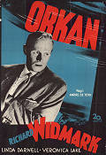 Orkan 1949 poster Richard Widmark Andre dee Toth