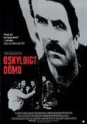 Oskyldigt dömd 1989 poster Tom Selleck Peter Yates