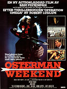 The Osterman Weekend 1984 poster Rutger Hauer Sam Peckinpah