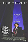 Other People's Money 1991 poster Danny de Vito