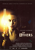 The Others Poster 64x85cm Germany RO Autograph by Nicole+Eric+Alejandro original