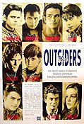 The Outsiders Poster 70x100cm B RO original