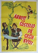 P� gr�n kvist Poster 70x100cm FN small piece missing original