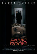 Panic Room 2002 poster Jodie Foster David Fincher